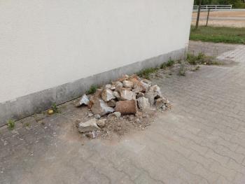 Vorarbeiten Reitplatz 2